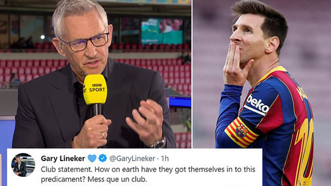 Lineker phẫn nộ với Barca: 'Sao họ có thể rơi vào tình cảnh này'