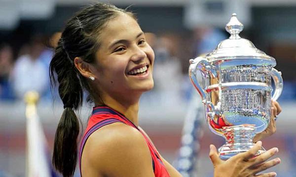 Tennis, Emma Raducanu, Mỹ mở rộng, US Open, tin tennis, tin quần vợt, Emma Raducanu vô địch Mỹ mở rộng, tin tức quần vợt hôm nay, Emma Raducanu vô địch Mỹ mở rộng
