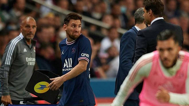 Messi bị thay ra sớm trong chiến thắng nhọc nhằn của PSG