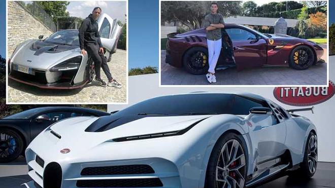 Thua kém Messi về khoản chơi xe, Ronaldo tậu thêm xế sang