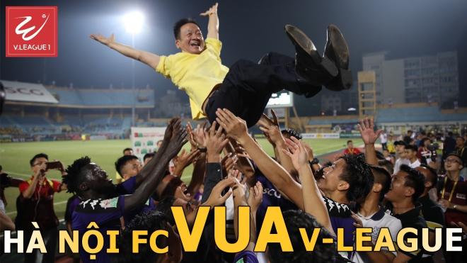 Điểm nhấn vòng 21 V-League 2018 : Hà Nội FC - Vua của V-League