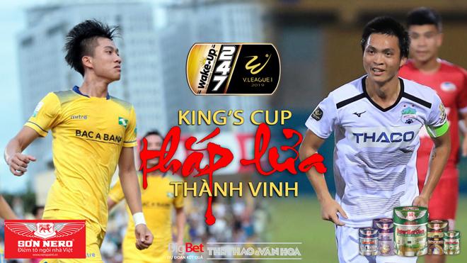 V League 2019 vòng 13: Hà Nội đấu với Sài Gòn, King's Cup thắp lửa trận chiến SLNA vs HAGL