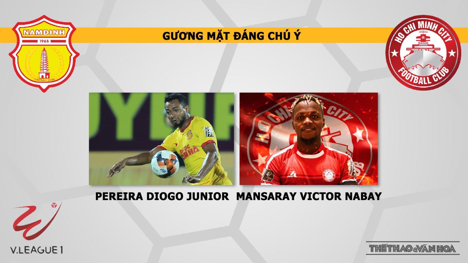 bong da, truc tiep bong da hôm nay, Nam Định vs TPHCM, trực tiếp bóng đá, Nam Định đấu với TPHCM, xem bong da truc tuyen, VTV6, bóng đá TV, Nam Định FC