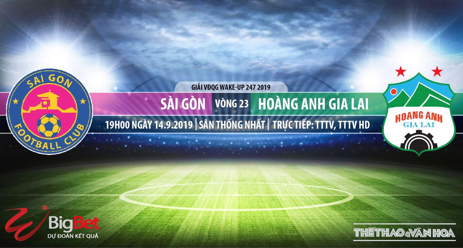 Trực tiếp bóng đá hôm nay:Sài Gòn vs HAGL (19h00). Soi kèo Sài Gòn đấu với HAGL