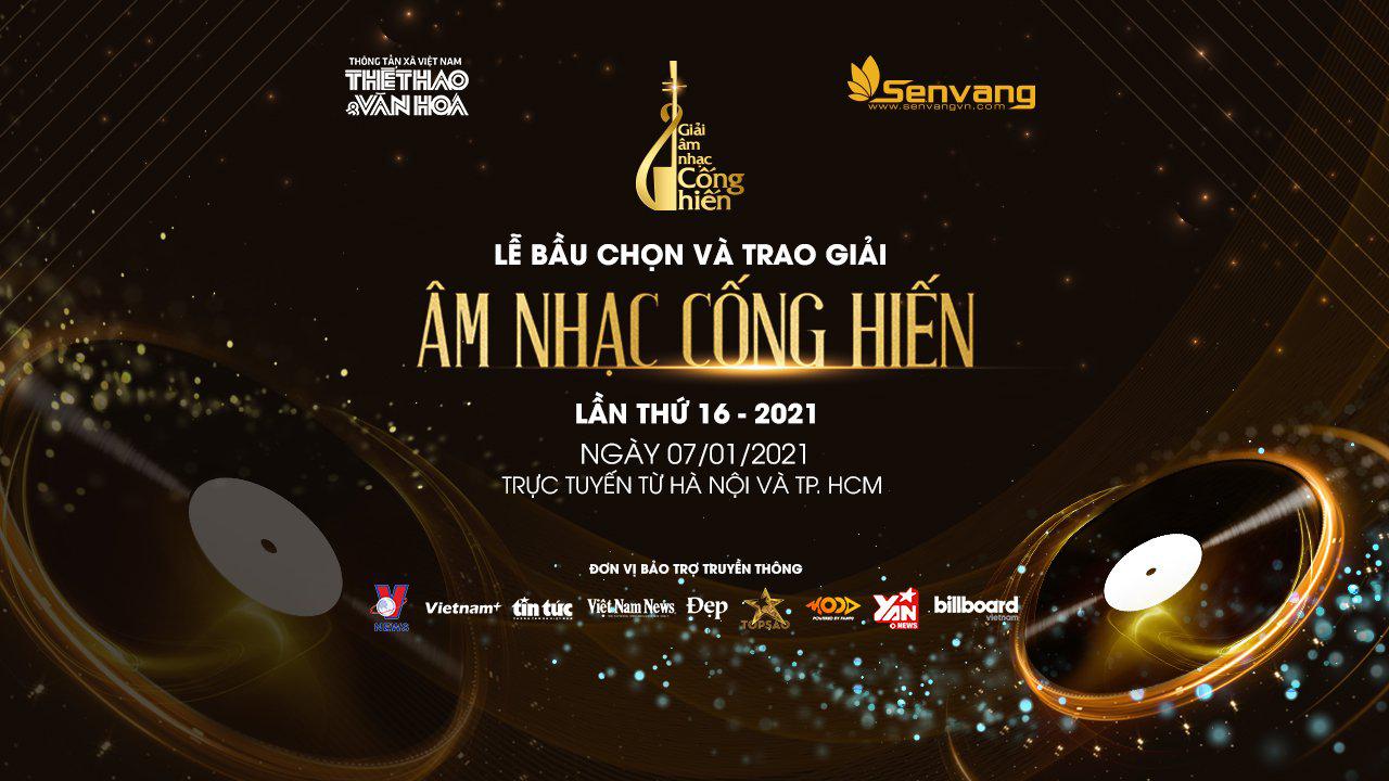 Danh sách Đề cử Giải thưởng Âm nhạc Cống hiến