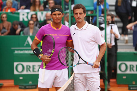 Đánh baikj Albert Ramos-Vinolas, Nadal lần thứ 10 vô địch tại Monte Carlo