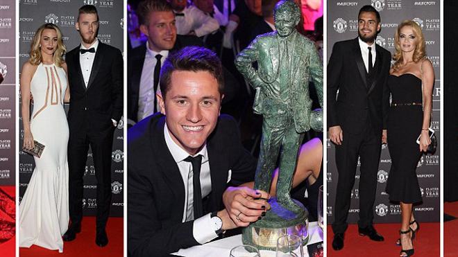 Herrera qua mặt Ibrahimovic giành giải 'Cầu thủ xuất sắc nhất năm' của Man United