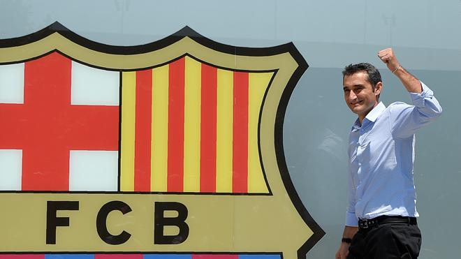 Ernesto Valverde chính thức ra mắt Barcelona, bắt đầu một 'thử thách thú vị'