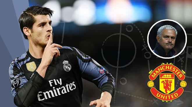 NÓNG: Morata đã 'gật đầu' với Man United, chỉ còn chờ kết quả đàm phán với Real Madrid