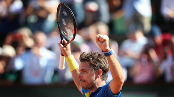 Hạ Murray, Wawrinka vào Chung kết Roland Garros