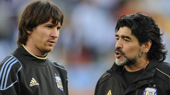 Maradona nói gì khi không được mời dự đám cưới của Messi?