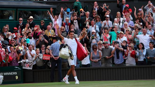 Tennis ngày 13/7: Federer tự tin sẽ vào Chung kết Wimbledon. Djokovic cân nhắc bỏ Mỹ mở rộng