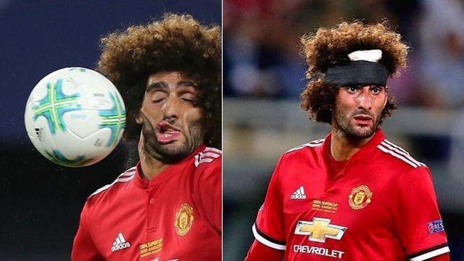 'Chết cười' với những bức ảnh chế khuôn mặt biến dạng của Fellaini