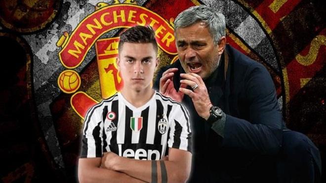 TIN HOT M.U 24/9: M.U sắp hỏi mua Dybala với giá 'khủng'. Mourinho tâng bốc Rashford