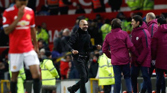 Guardiola: 'Nếu M.U thấy bị xúc phạm bởi màn ăn mừng thì tôi xin lỗi'