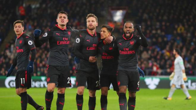 Video clip bàn thắng trận Crystal Palace 2-3 Arsenal: Ngày Sanchez rực sáng
