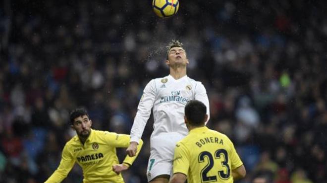 Video bàn thắng Real Madrid 0-1 Villarreal: Ronaldo lại vô duyên kì lạ