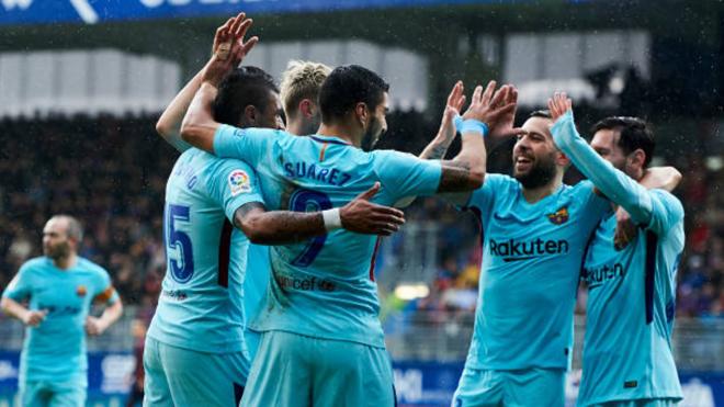 Eibar 0-2 Barcelona: Thắng dễ, Barca gửi tối hậu thư cho Chelsea