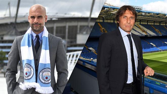 Conte lo sợ Guardiola và Man City sẽ thống trị bóng đá Anh