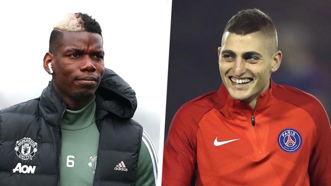CHUYỂN NHƯỢNG 15/3: M.U muốn đổi Pogba lấy Veratti. Nike sẽ giúp Real có được Neymar