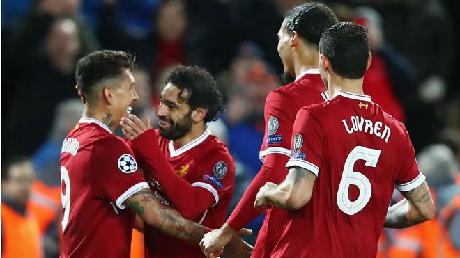 Mohamed Salah xô đổ hàng loạt kỷ lục trong trận Liverpool thắng Roma