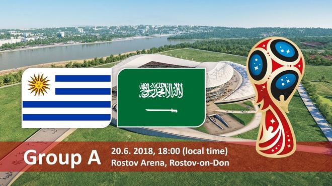 Xem trực tiếp Uruguay – Saudi Arabia (22h00, 20/6) ở đâu?