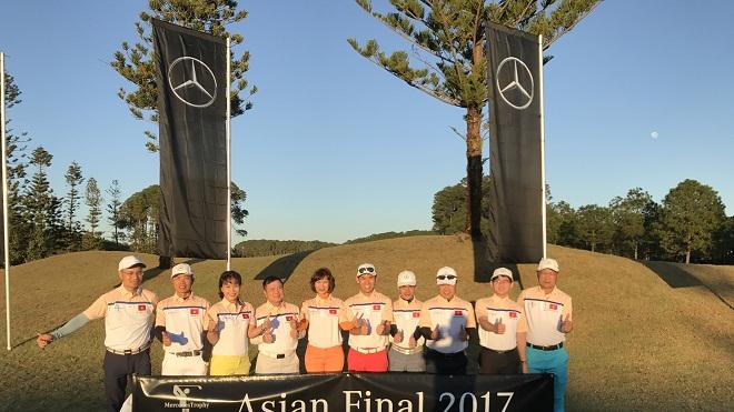 Dấu ấn golf Việt tại vòng chung kết Châu Á MercedesTrophy 2017