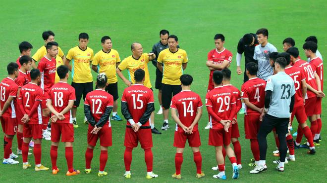Điều chỉnh lịch đấutrận Việt Nam vs Hàn Quốc, đồng hương HLV Park Hang Seo dẫn dắt Thái Lan