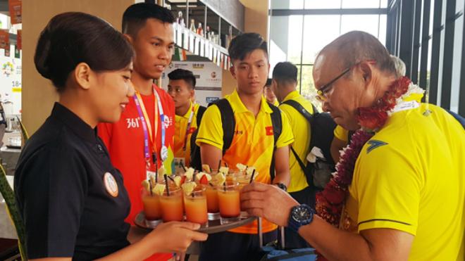 Cận cảnh nơi đóng quân của U23 Việt Nam tại ASIAD