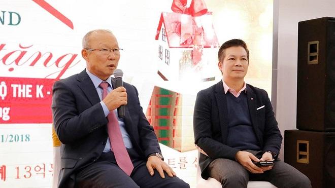 HLV Park Hang Seo mừng khi được tặng căn hộ 'phong cách Hàn Quốc'
