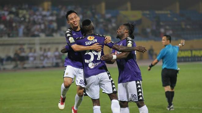 Quang Hải kiến tạo, Hà Nội FC vùi dập Sài Gòn FC ở Cup QG - Sư tử trắng 2018