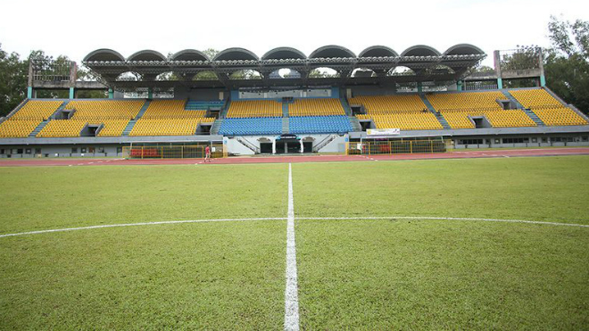 Cận cảnh sân đá bán kết Philippines vs Việt Nam: Chất lượng sân gây lo lắng