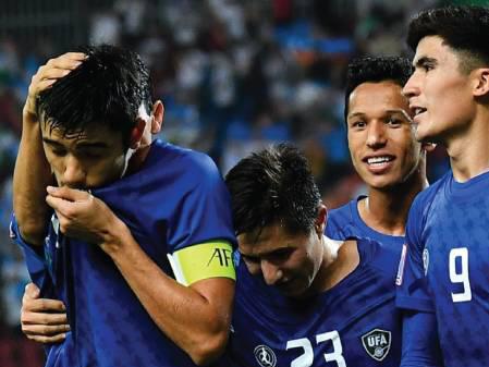 U23 Uzbekistan 'vùi dập' U23 UAE bằng 'cơn mưa' bàn thắng