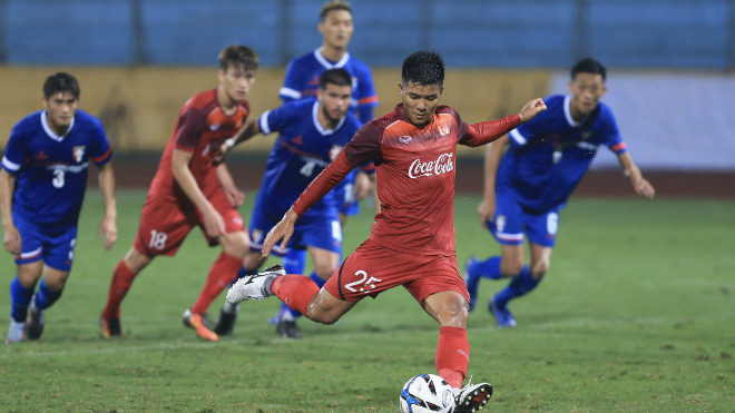 Trọng tài Jordan bắt chính trận U23 Việt Nam vs U23 Brunei