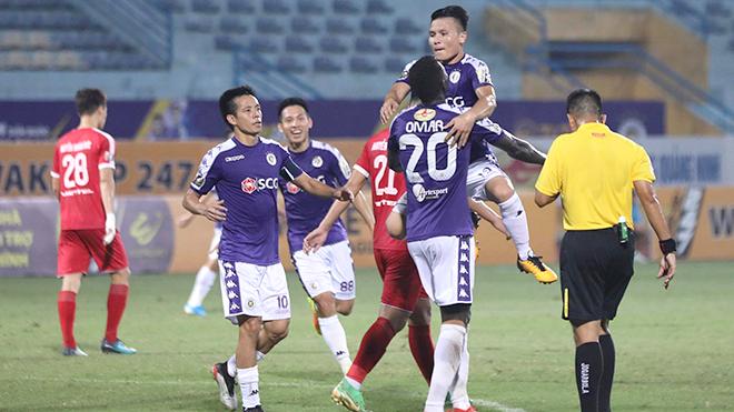 bóng đá Việt Nam, V League, lịch thi đấu V League, trực tiếp bóng đá, kết quả bóng đá V League, Viettel 1-1 Hà Nội, HLV Chu Đình Nghiêm, Quang Hải, Omar, VFF