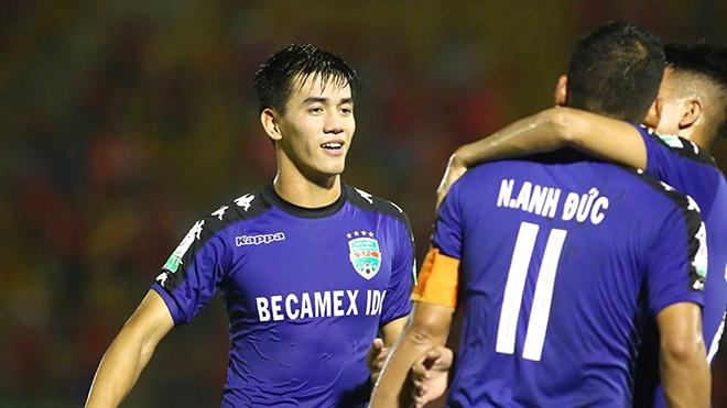 Hà Nội FC, HAGL, V League, lịch thi đấu vòng 3 V League, Tiến Linh, Hà Đức Chinh, SLNA