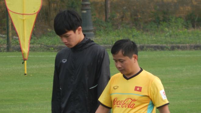 HLV Park Hang Seo chốt quân, tân binh của tuyển Việt Nam dính chấn thương