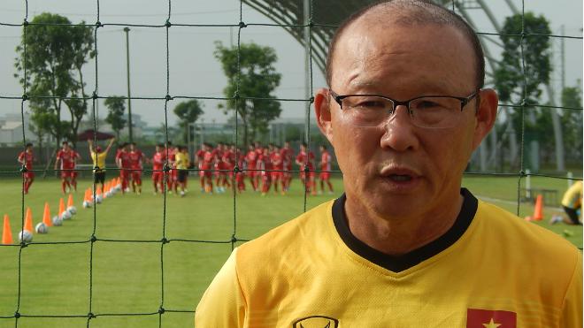 HLV Park Hang Seo than mệt khi nói về mục tiêu của U23 Việt Nam
