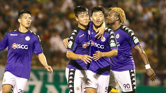 Quang Hải vắng mặt, Hà Nội FC vẫn dễ dàng đánh bại Hồng Lĩnh Hà Tĩnh