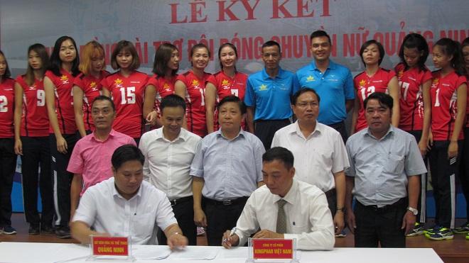 """Dược phẩm Kingphar cùng đội bóng chuyền nữ """"Kingphar Quảng Ninh"""" chờ mùa giải chuyên nghiệp thành công"""