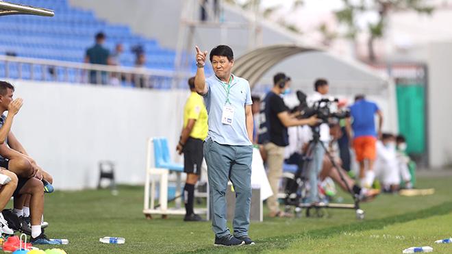 HLV Sài Gòn không bất ngờ về trận thắng Hà Nội FC