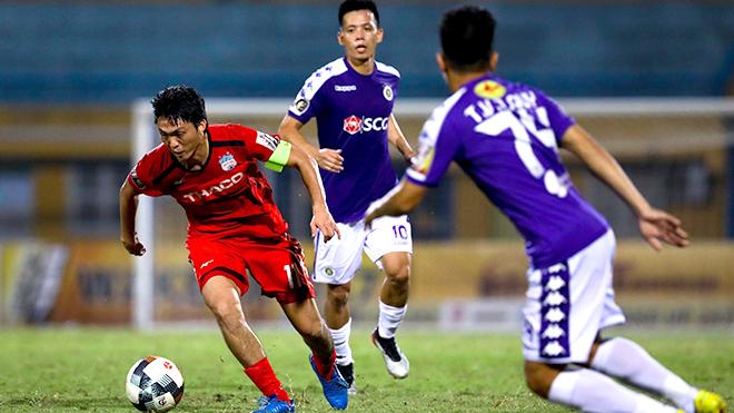 Trực tiếp bóng đá: Bình Dương vs Hà Nội. Đà Nẵng vs HAGL. Trực tiếp vòng 6 V-League