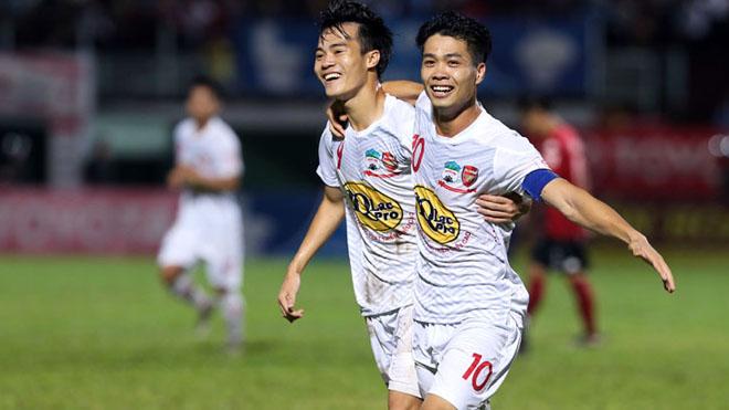 Công Phượng ghi bàn, HAGL đánh bại đội đầu bảng Hà Nội FC