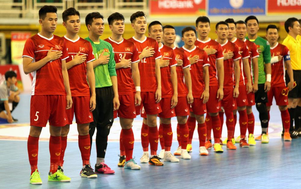 Bóng đá Việt Nam hôm nay: Futsal Việt Nam vs Lebanon. Trực tiếp bóng đá Việt Nam. Truc tiep Futsal Việt Nam. Trực tiếp vòng play-off futsal World Cup 2021