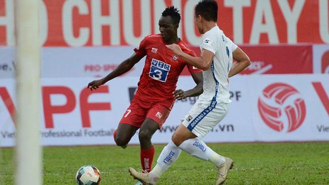 Kết quả bóng đá: Phố Hiến thua 1-2 trước Thanh Hoá. Viettel thắng Khánh Hoà 1-0