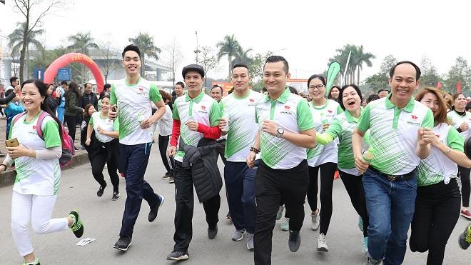 Herbalife Việt Nam đồng hành cùng đường chạy Fun Run, khởi động ASIAN GAMES 2018