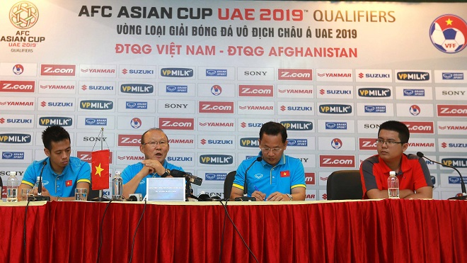 HLV Park Hang Seo tin tuyển Việt Nam sẽ thắng Afghanistan