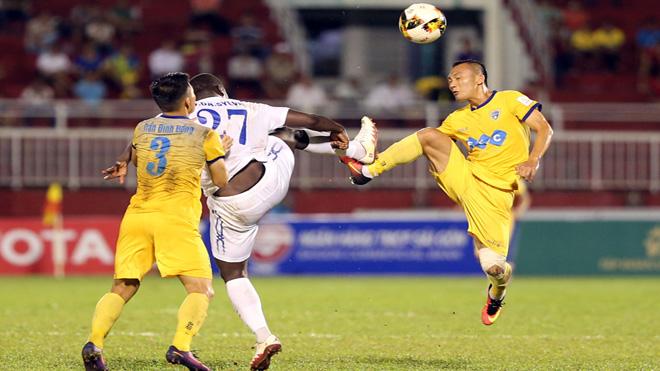 HAGL thắng dễ Than Quảng Ninh, FLC Thanh Hóa thua trận thứ 2 ở V-League