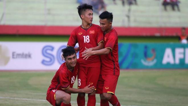 U19 Việt Nam đại thắng U19 Philippines tại giải Đông Nam Á