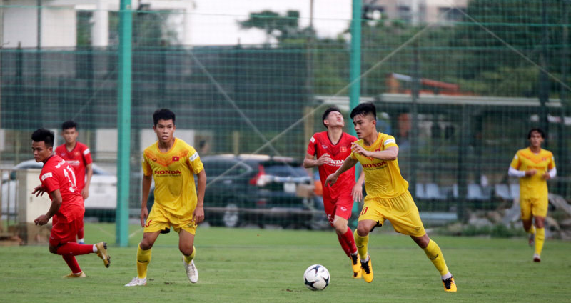 bóng đá Việt Nam, tin tức bóng đá, bong da, tin bong da, U22 VN, U22 Việt Nam hòa Viettel, HLV Park Hang Seo, Huỳnh Như, Tuyết Dung, tuyển nữ VN, V League